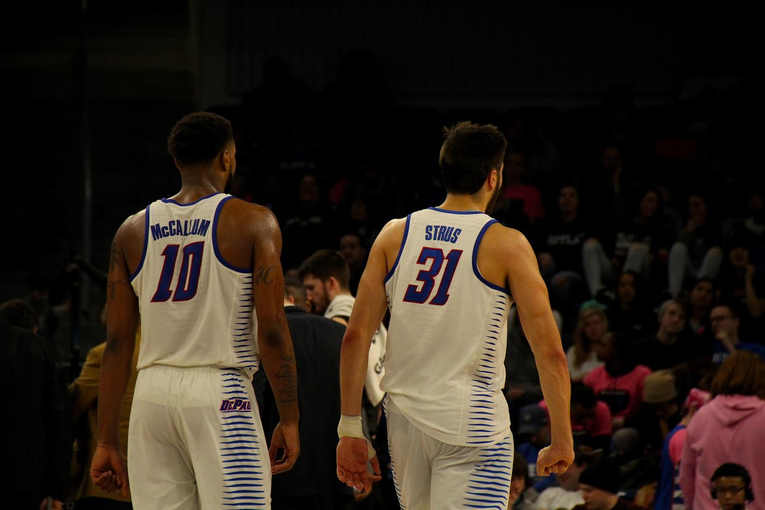 DePaul improved to 3-4 in road games this season. (Richard Bodee / The DePaulia).