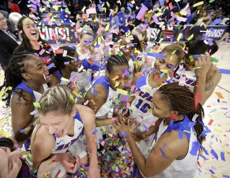Senior Amarah Coleman was named the tournament's Most Outstanding Player, while Kelly Campbell and Mart'e Grays were named to the All-Tournament team.   Charles Rex Arbogast | AP