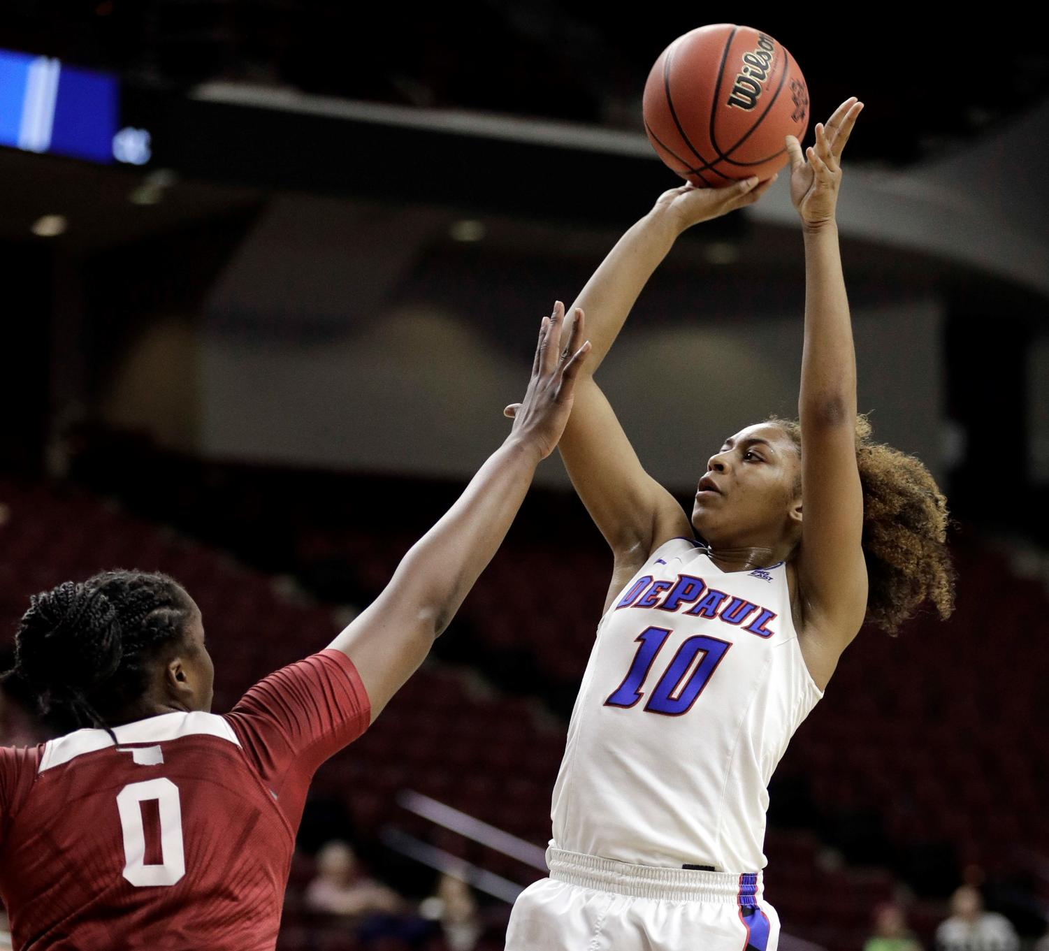 Amarah Coleman finished with 17 points, seven rebounds and five assists  David J. Phillip | AP