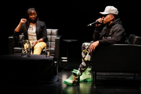 'You don't want no problems:' Chance gets political