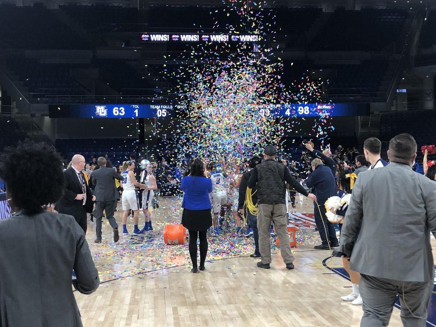 DePaul will appear in their 16th consecutive NCAA Tournament Friday against the Sooners.  Andrew Hattersley   The DePaiulia