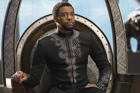 Chadwick Boseman stars as King T'Challa in