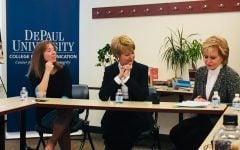 Jane Pauley, alumna Ann Pistone honored by journalism department