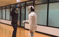 En Garde: DePaul's fencing club brings ancient combat to the Ray
