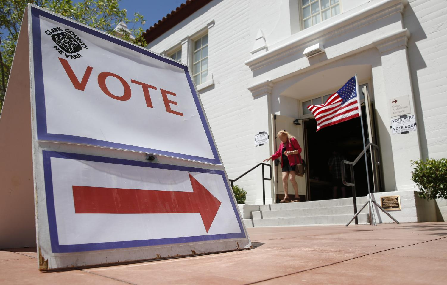 Despite talking a big game on social media, only 3 percent of registered millennial voters actually voted in the recent Illinois primary elections. (John Locher| AP)