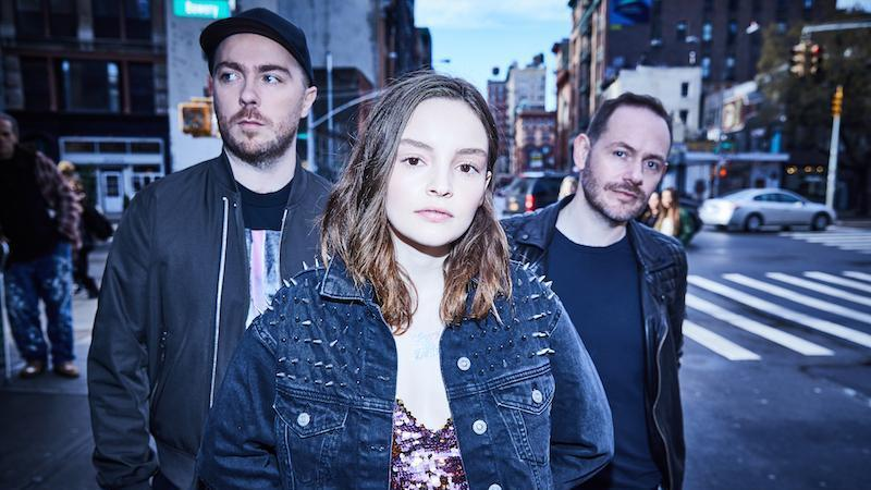 CHVRCHES will travel to Grant Park following the release of their third album. (Image courtesy of NPR)