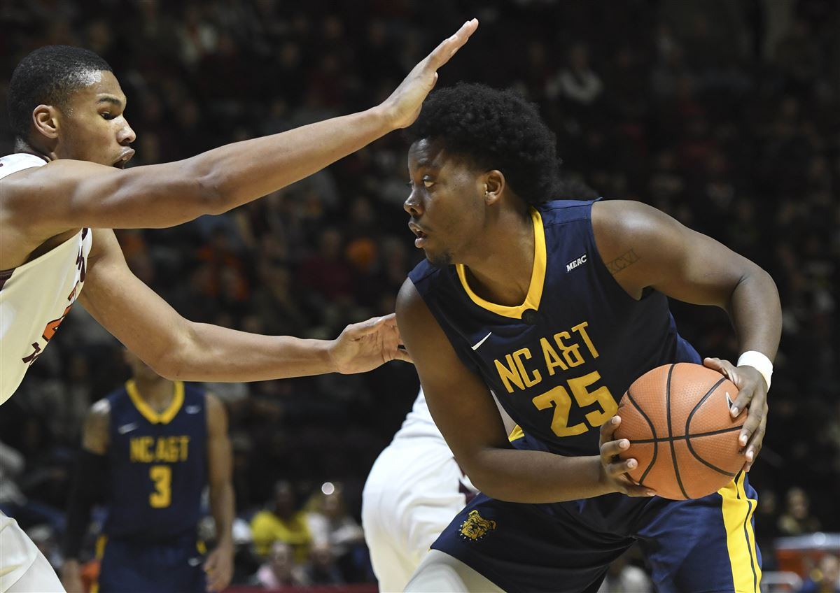 Femi Olujobi comes to DePaul as a graduate transfer from North Carolina A&T. Photo Courtesy of USA TODAY