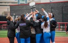 Champs again: Softball takes home second-consecutive Big East Championship title