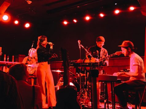 Jess Williamson opened the show for alternative trio Loma at Schubas Tavern on Friday, May 11.
