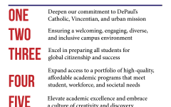 Commentary: DePaul misses the mark in several areas in new six-year plan