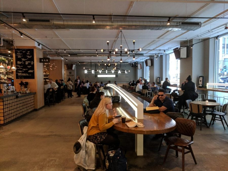 Food hall frenzy: Designer, fast and casual restaurants in one place
