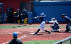 Softball drops final home game, clinch Big East regular season title