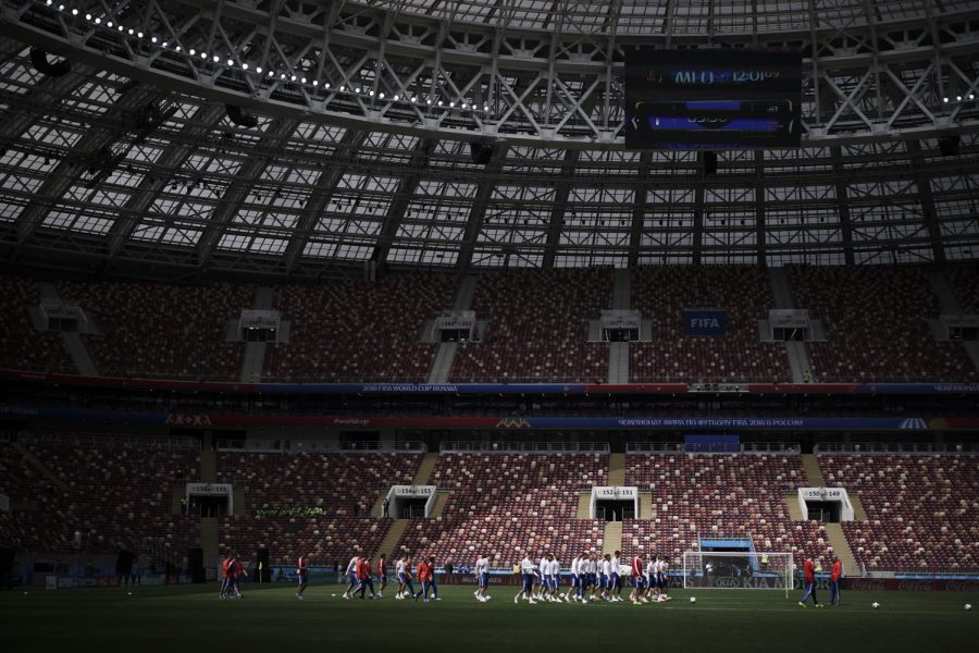 Russia and Saudi Arabia kick off the World Cup Thursday June 14.  Felipe Dana | AP