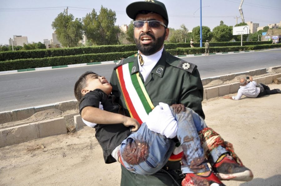 Iran%27s+president+blames+US+after+attack+on+military+parade