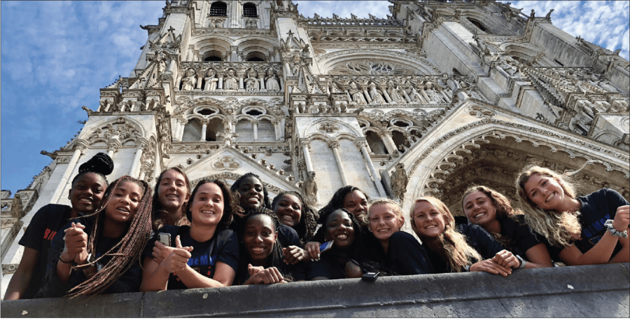 Women's Basketball takes memorable trip abroad
