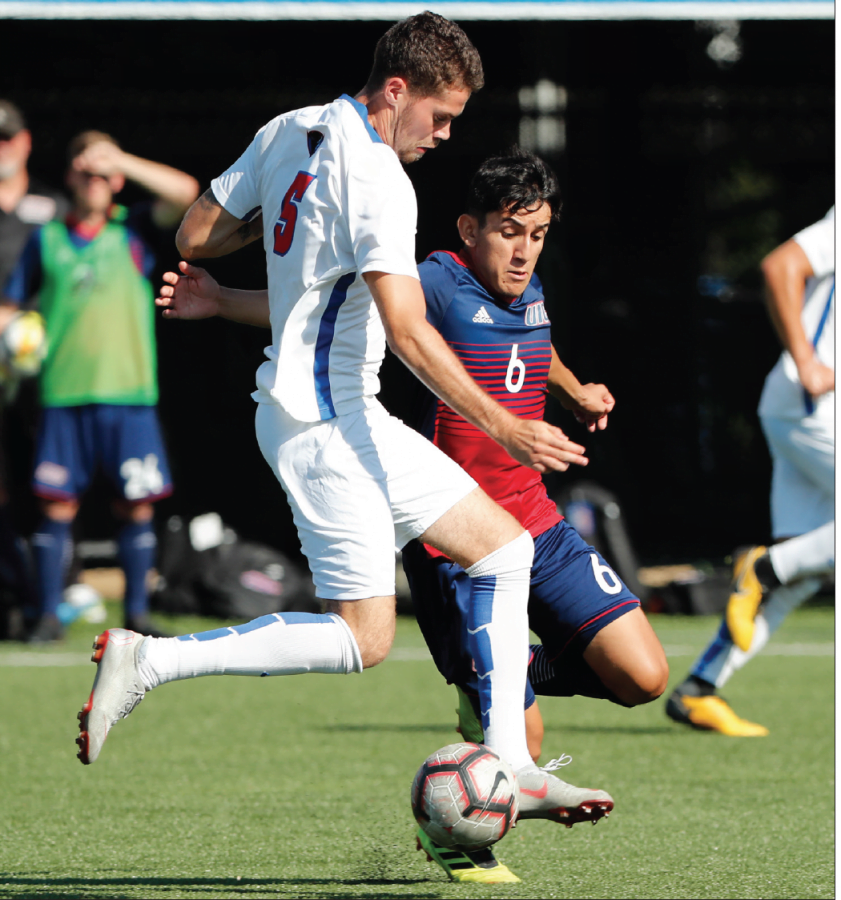 In their last rehearsal before beginning conference play, the Blue Demons (3-3) fell to UIC 2-0, on Tuesday afternoon at Wish Field.