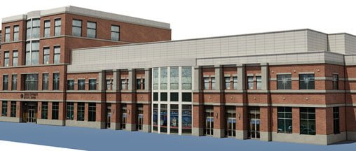Sullivan Training Center rendering