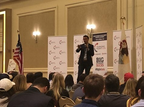 Forced off campus, TPUSA event goes off without a fuss