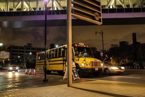 DePaul students take advantage of Wintrust shuttle