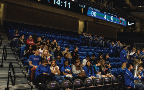 The onus is on DePaul to attract fans