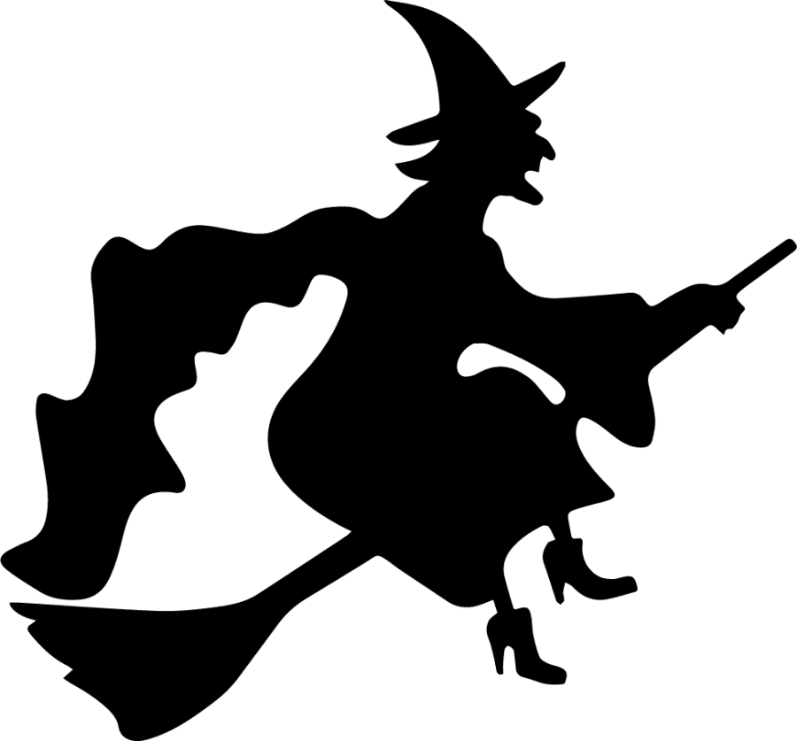 To ride on the witch's broomstick