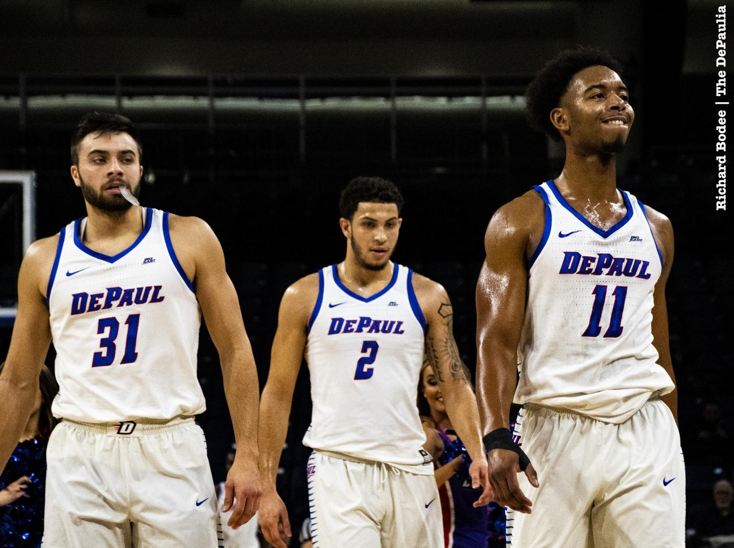 DePaul plays Central Michigan in the first round of the CBI on Wednesday evening. Richard Bodee I The DePaulia