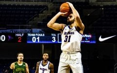 Strus scales 3-point field goal milestone in 104-70 Blue Demon win against Chicago State