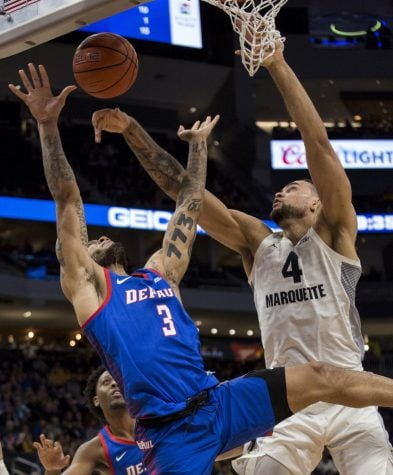 DePaul comeback attempt falls short against Marquette