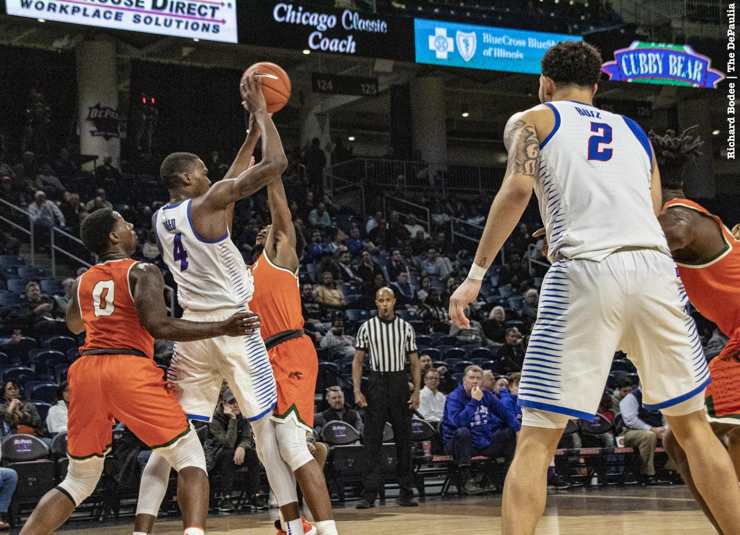 The concurrent emergence of Jaylen Butz and Paul Reed has been a major development for the DePaul Blue Demons this season. Richard Bodee I The DePaulia