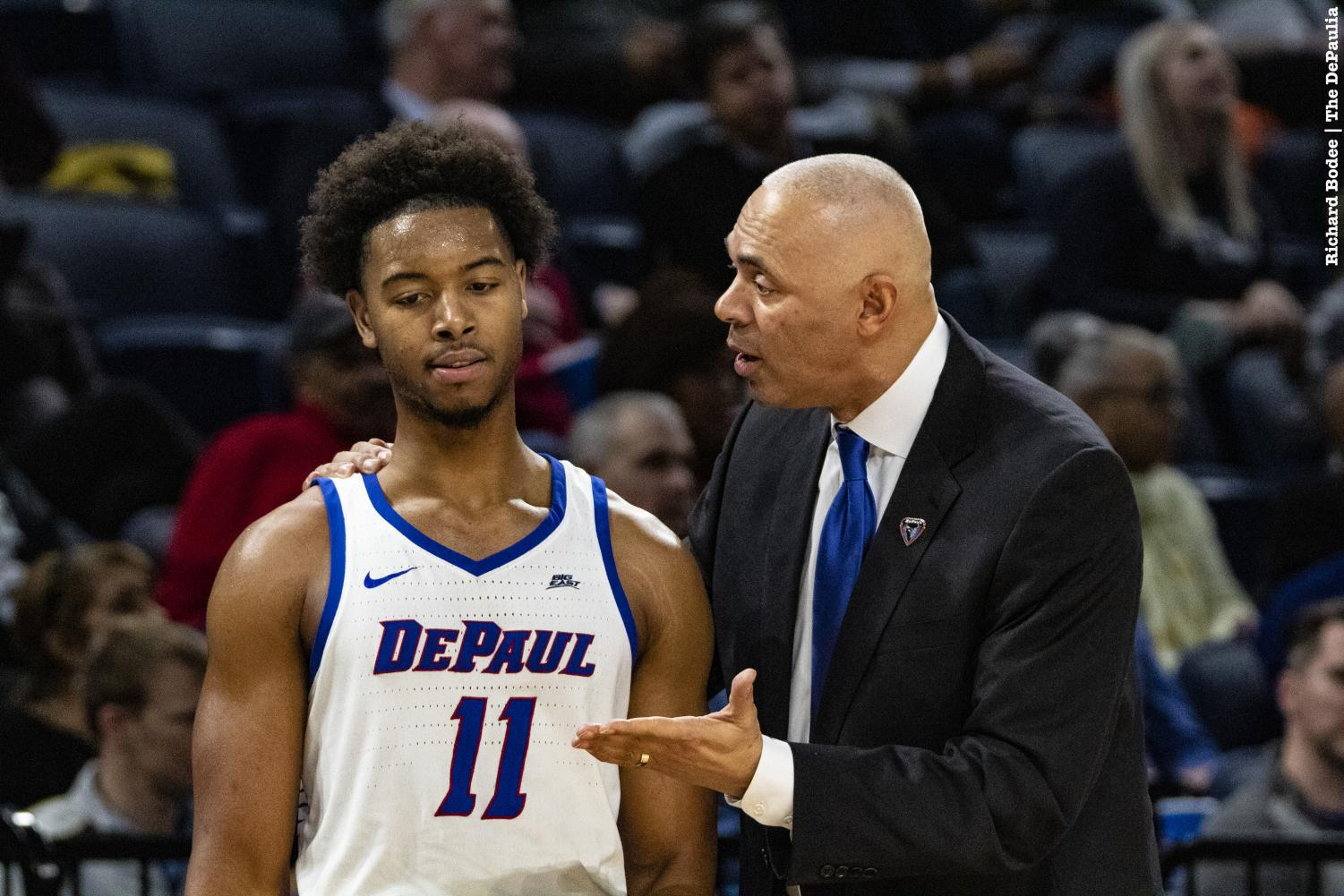 DePaul fell to Butler 87-69 at Wintrust Arena on Wednesday night, snapping a two-game winning streak. Richard Bodee I The DePaulia
