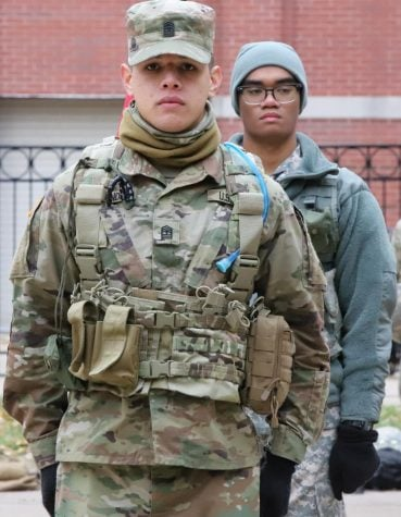 The DePaulia | Cadets on campus