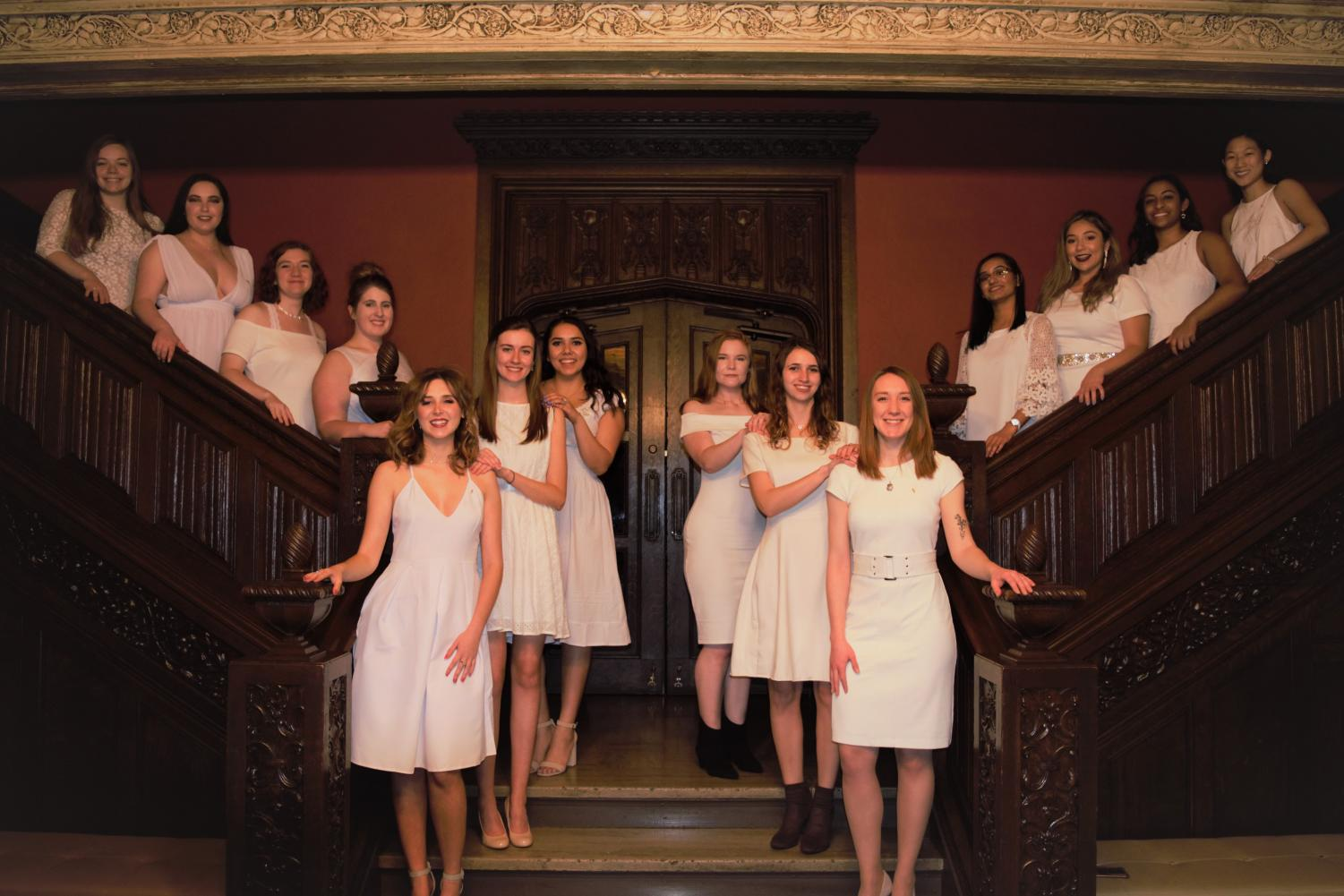 Alpha Sigma Kappa is the newest sorority to be initiated with DePaul's Panhellenic Council.