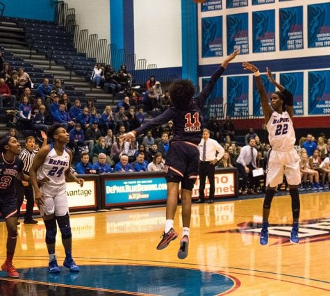 DePaul splits weekend homestand