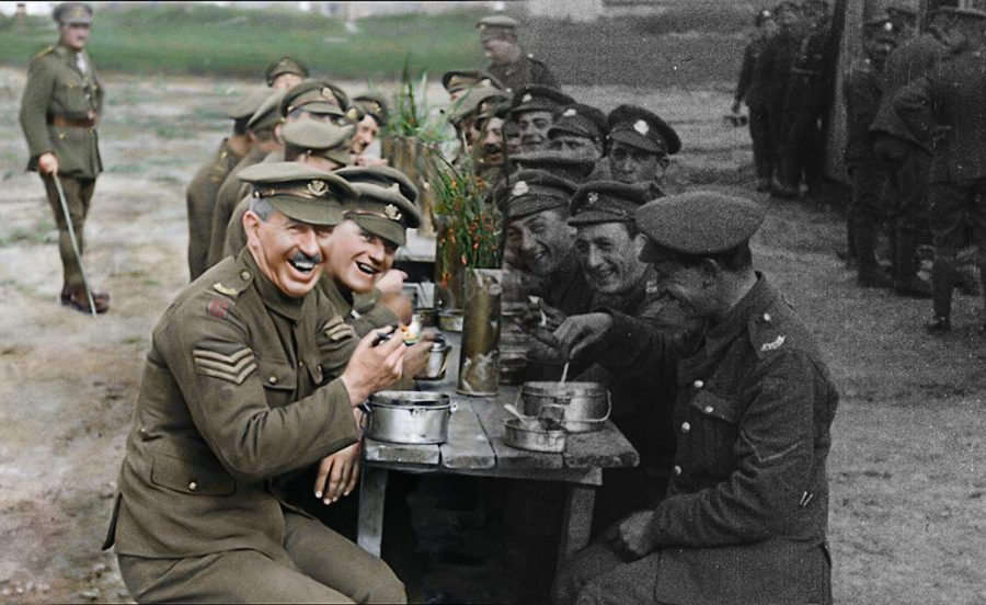 Original film stock of images during World War I have been digitized and colorized, shining a new light on the first World War for history buffs and casual viewers alike.
