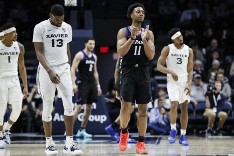 DePaul uses late run to snap streak against Xavier