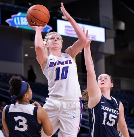 Staying in rhythm: DePaul freshman finds her groove coaching young athletes
