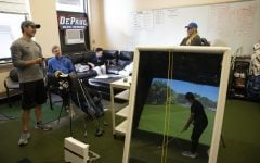 Golf thaws out  for spring season with simulator