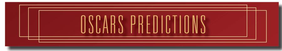 Oscars+Predictions