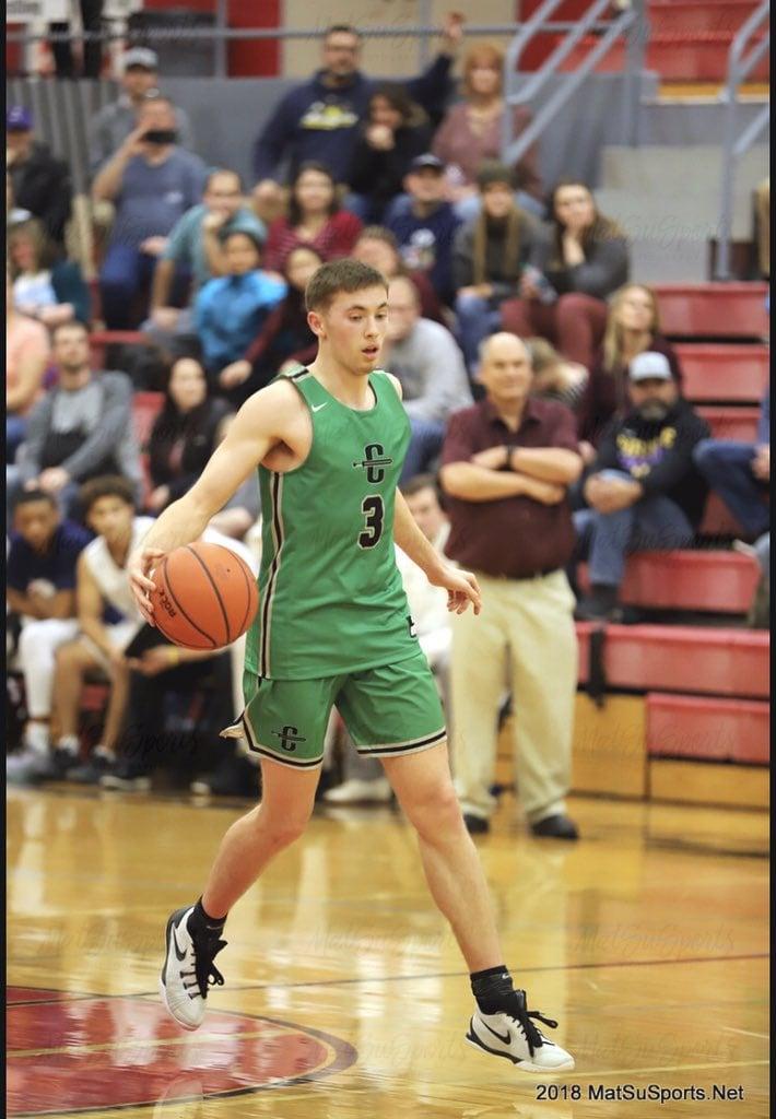 Sullivan Menard from Palmer, Alaska will be a preferred walk-on for the DePaul Blue Demon men's basketball team next season.