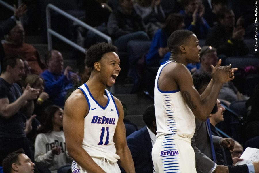 DePaul squares off against Longwood on Monday night in the quarterfinals of the CBI tournament. Richard Bodee | The DePaulia