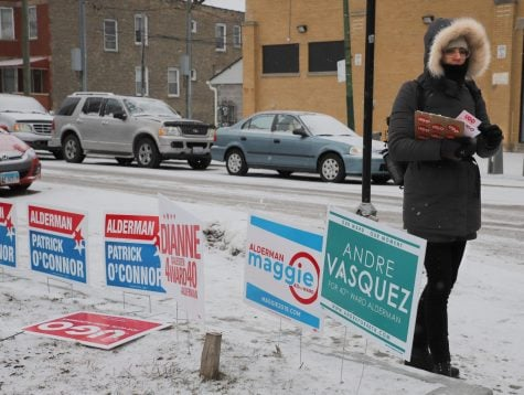 Chicago treads to the polls with surprisingly low voter turnout