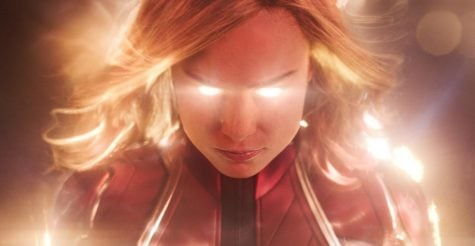 Brie Larson leads the entertaining, if familiar, '90s-set superhero flick