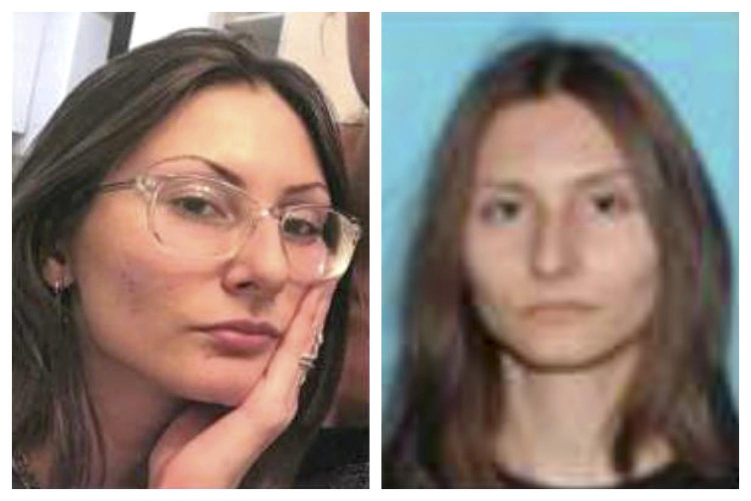 This combination of undated photos released by the Jefferson County, Colo., Sheriff's Office on Tuesday, April 16, 2019 shows Sol Pais. On Tuesday authorities said they are looking pais, suspected of making threats on Columbine High School, just days before the 20th anniversary of a mass shooting that killed 13 people.