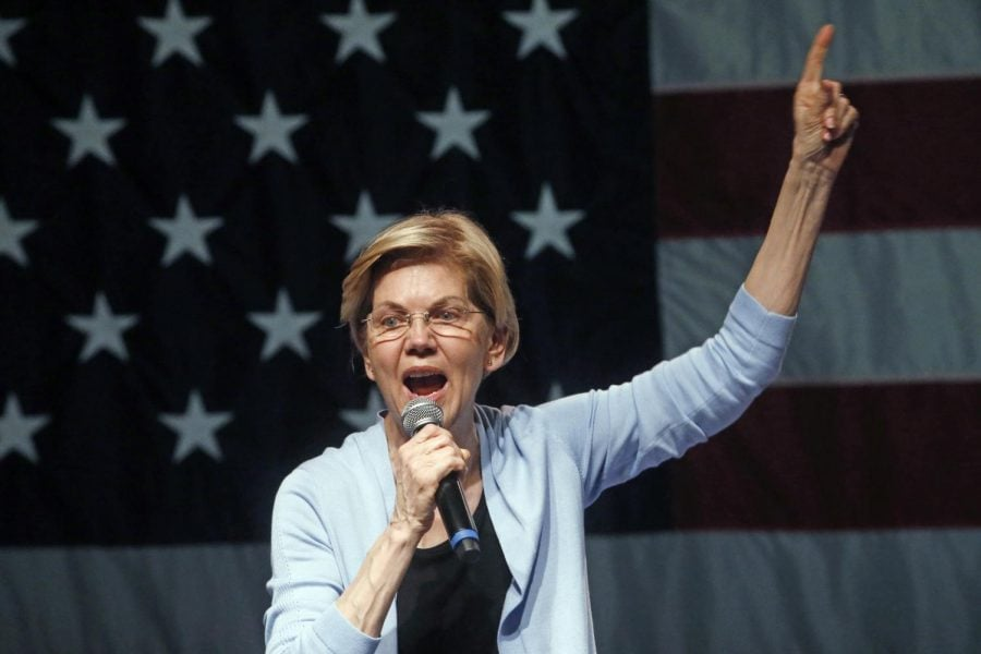 Democratic+presidential+candidate+Sen.+Elizabeth+Warren%2C+D-Mass.%2C+speaks+during+a+campaign+rally+Wednesday%2C+April+17%2C+2019%2C+in+Salt+Lake+City.+