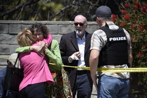 Officials: 4 injured in shooting at California synagogue