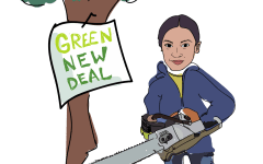 OPINION: Green New Deal: Ocasio-Cortez led Democrats in a valiant charge of environmentalism — straight off a cliff