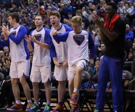 DePaul shoots lights out, routs Providence