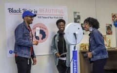 DePaul embraces the  beauty of natural hair