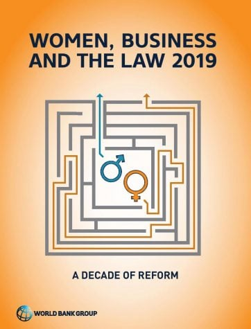 The Feb. 27 report says that despite gains in legal gender equality over the last decade,