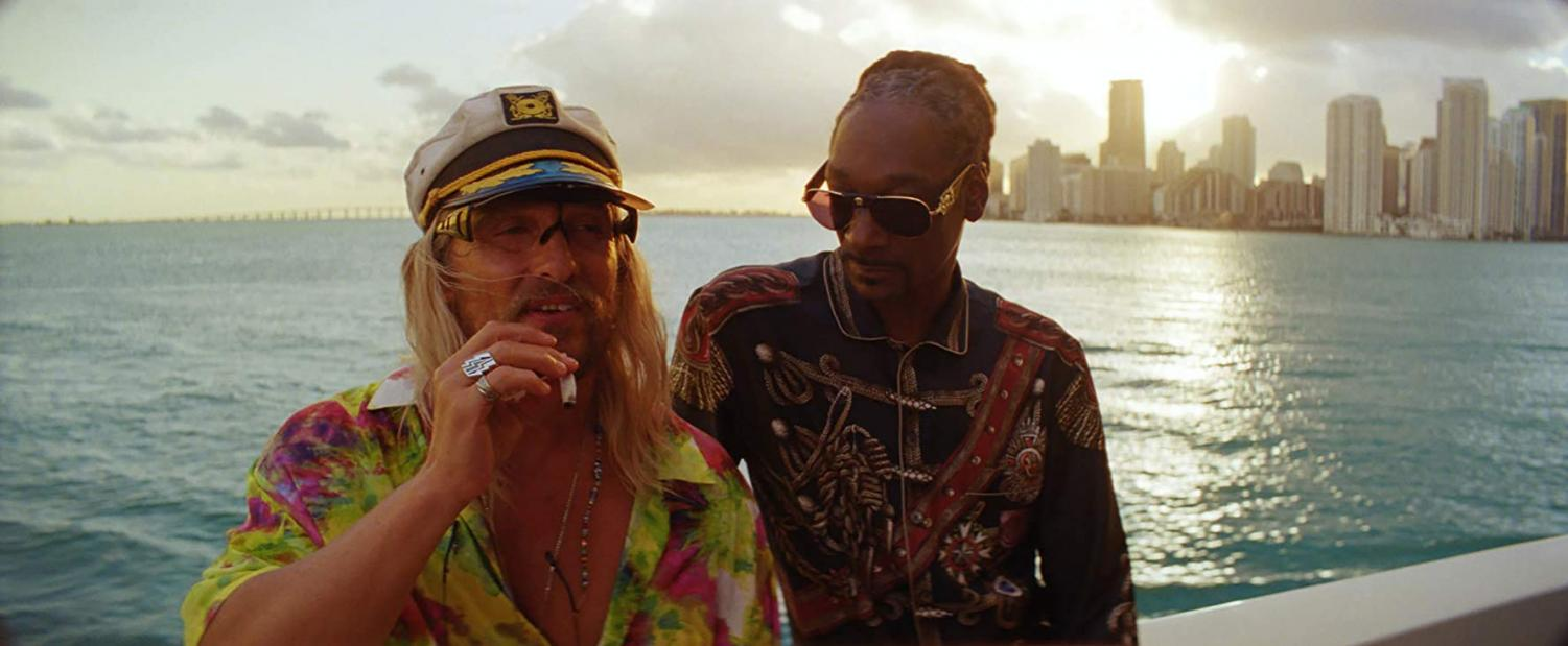 Matthew McConaughey and Snoop Dogg in a scene from